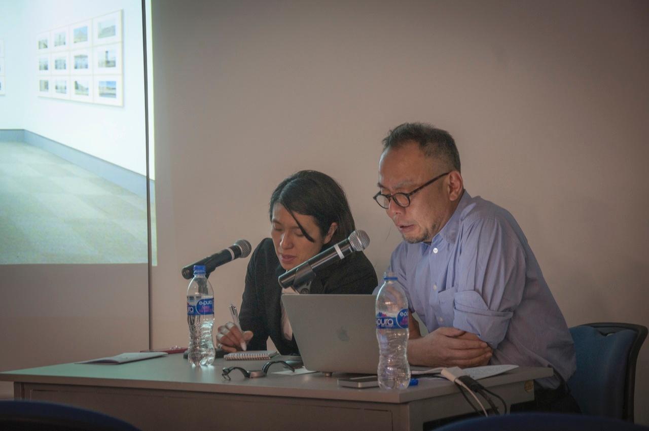 メキシコ国立自治大学(UNAM)における畠山直哉氏(写真家)の講演